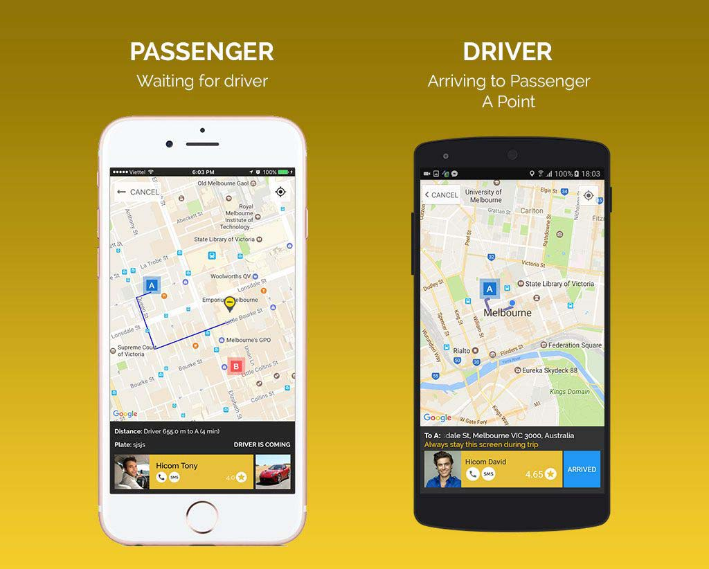 How to make an app like Uber for a taxi business