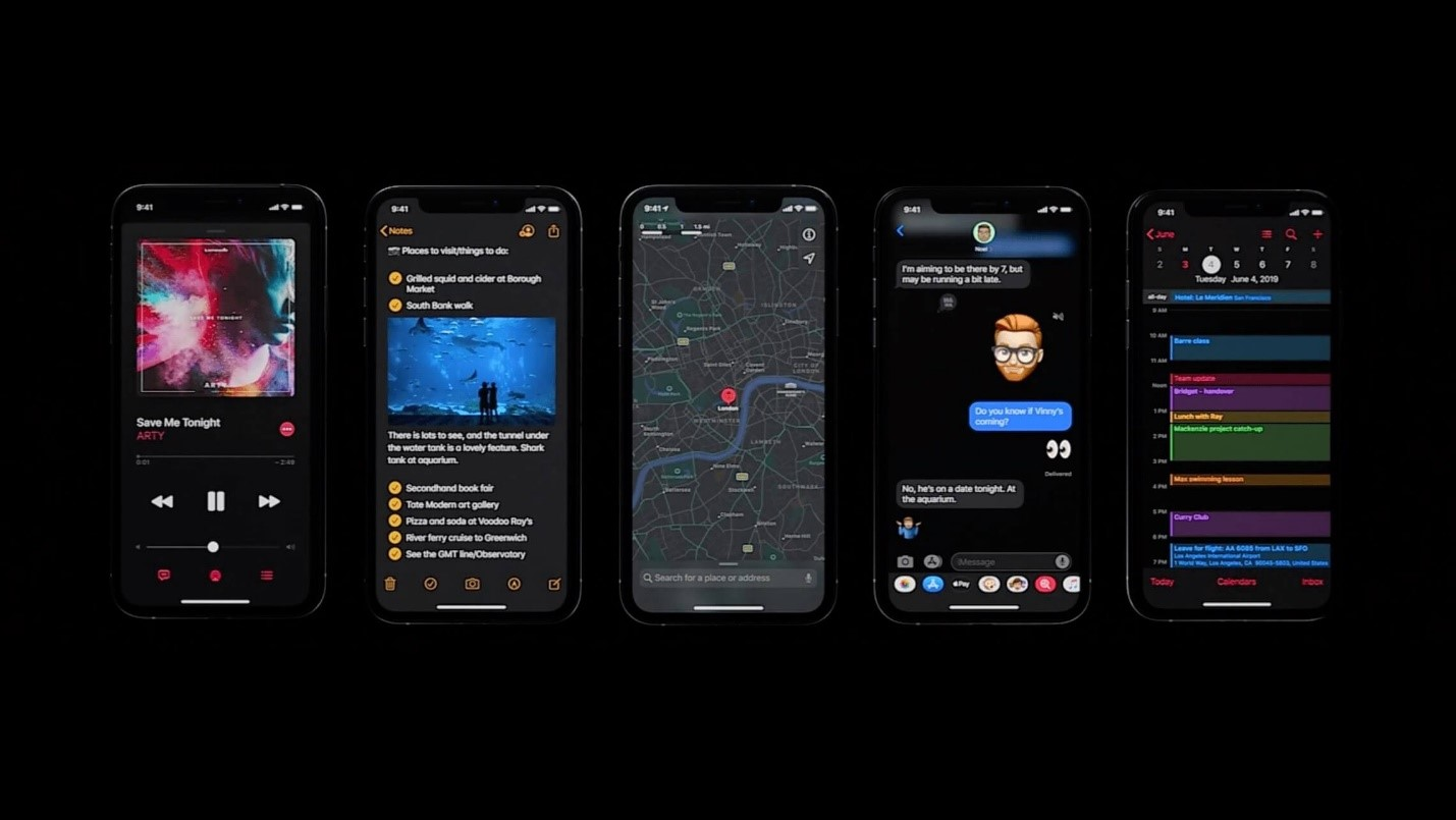 Dark mode User Interface (UI) Design Trends