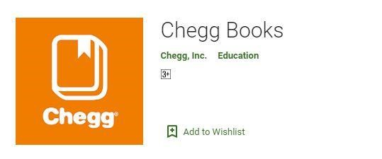 Android Apps for College Students Chegg Books