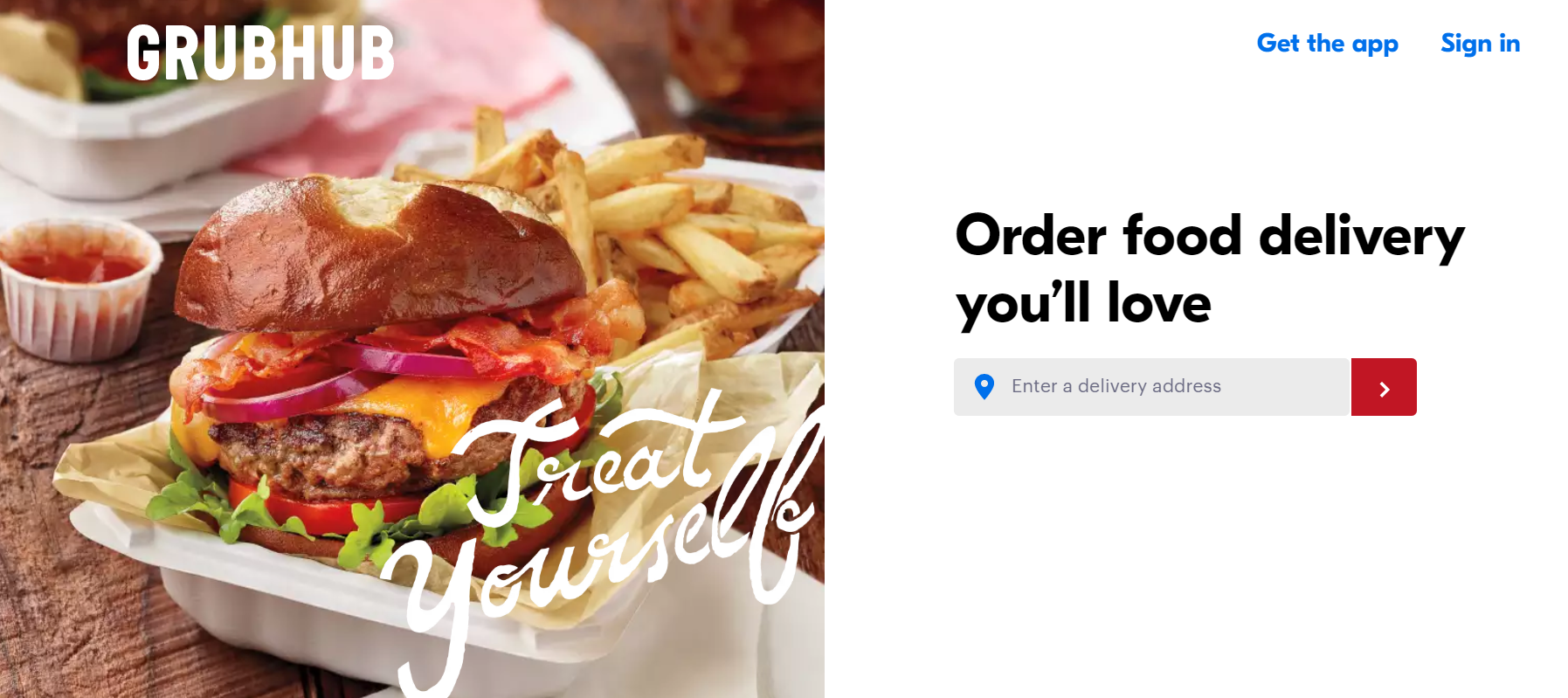 Build a Food Delivery Site GrubHub