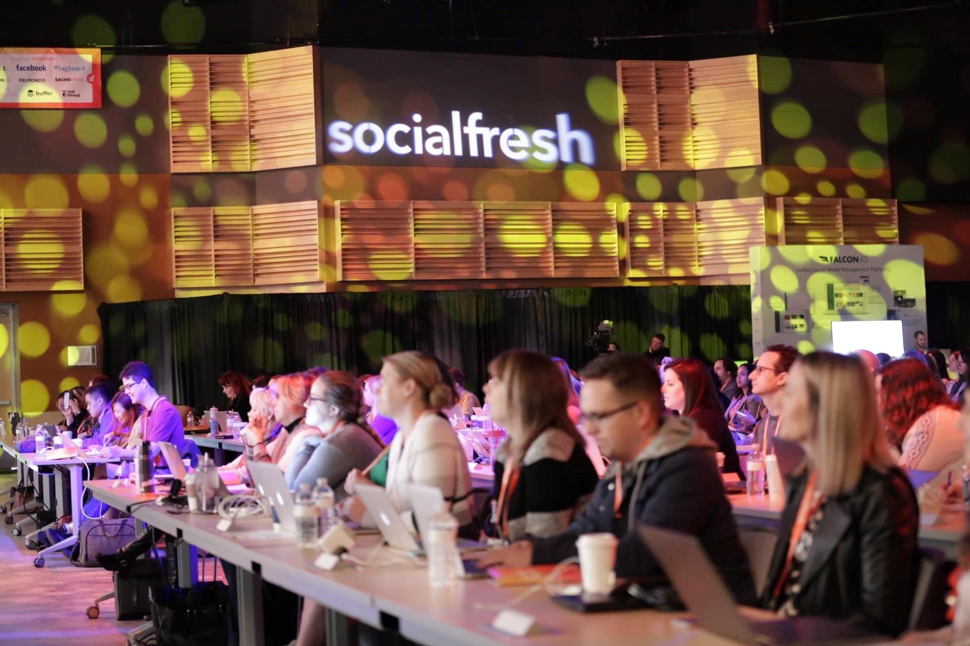 Fresh Конференции по Социальным Медиа
