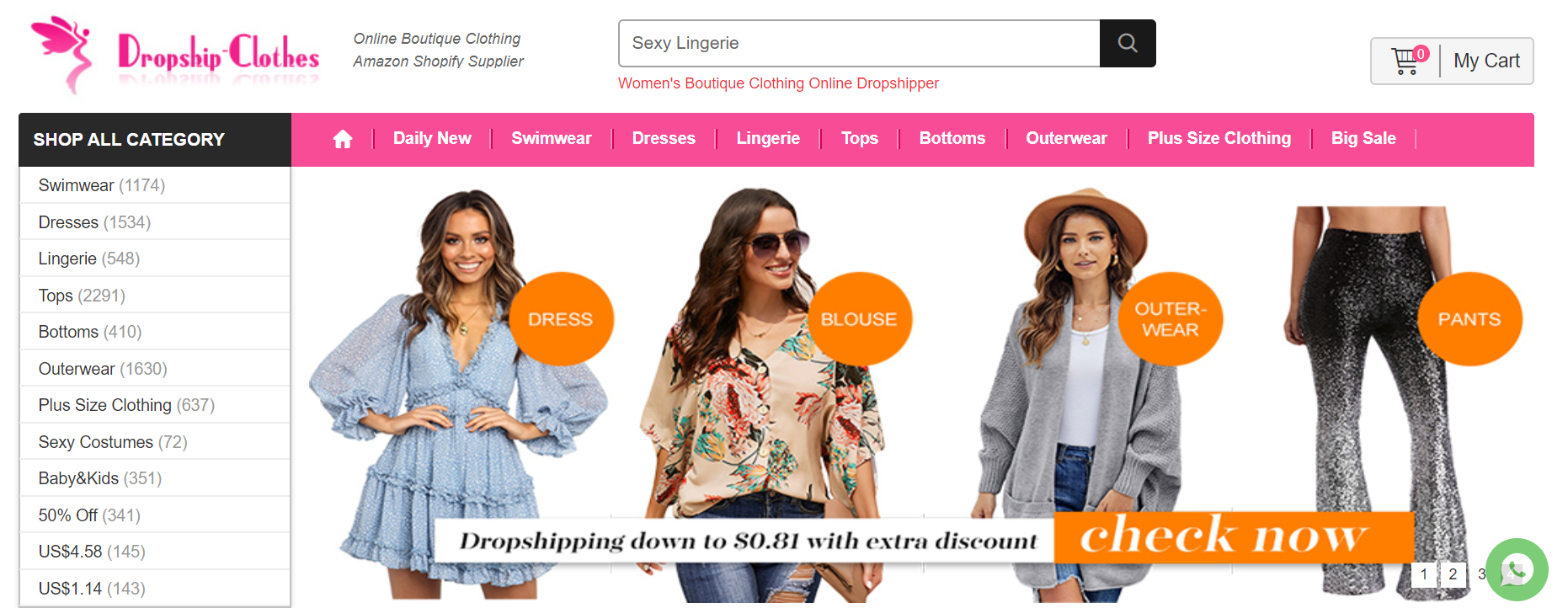 Dropship-clothes.com Интернет-магазин одежды