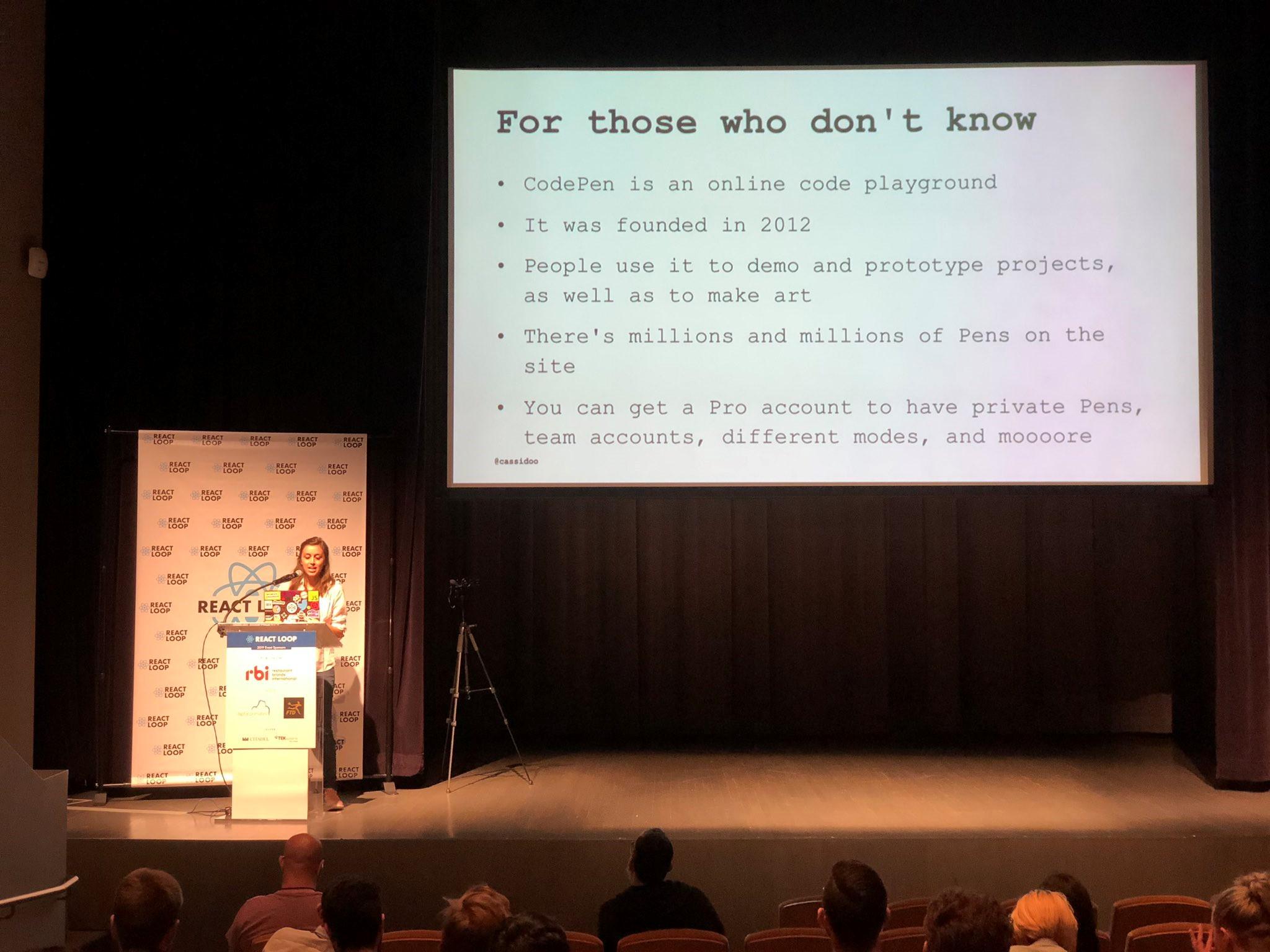 Loop React js и React Native Конференции