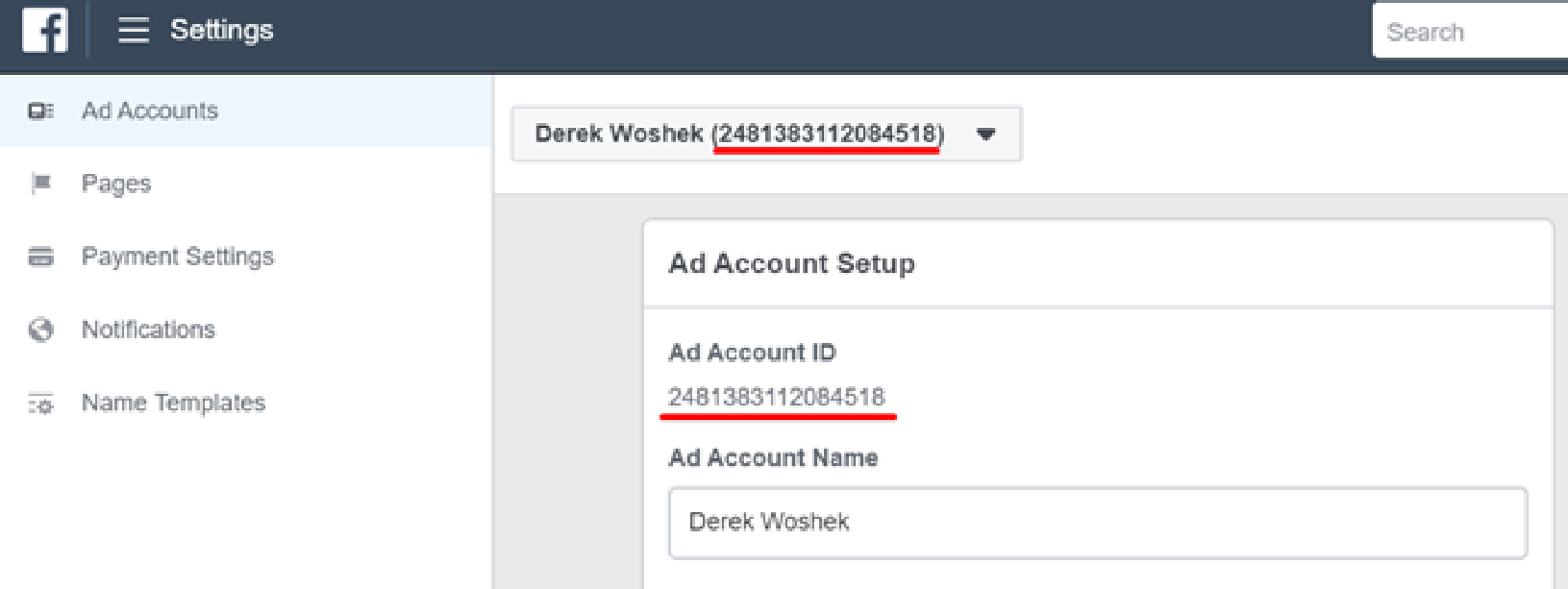 associate Create Facebook Ads Account