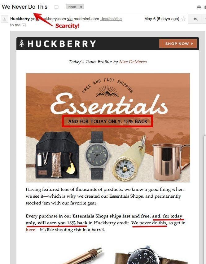 Huckberry best marketplace marketing strategy