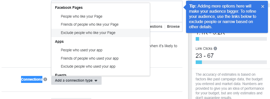 Facebook Ads Manager бизнес