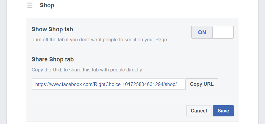 Facebook Business Page function