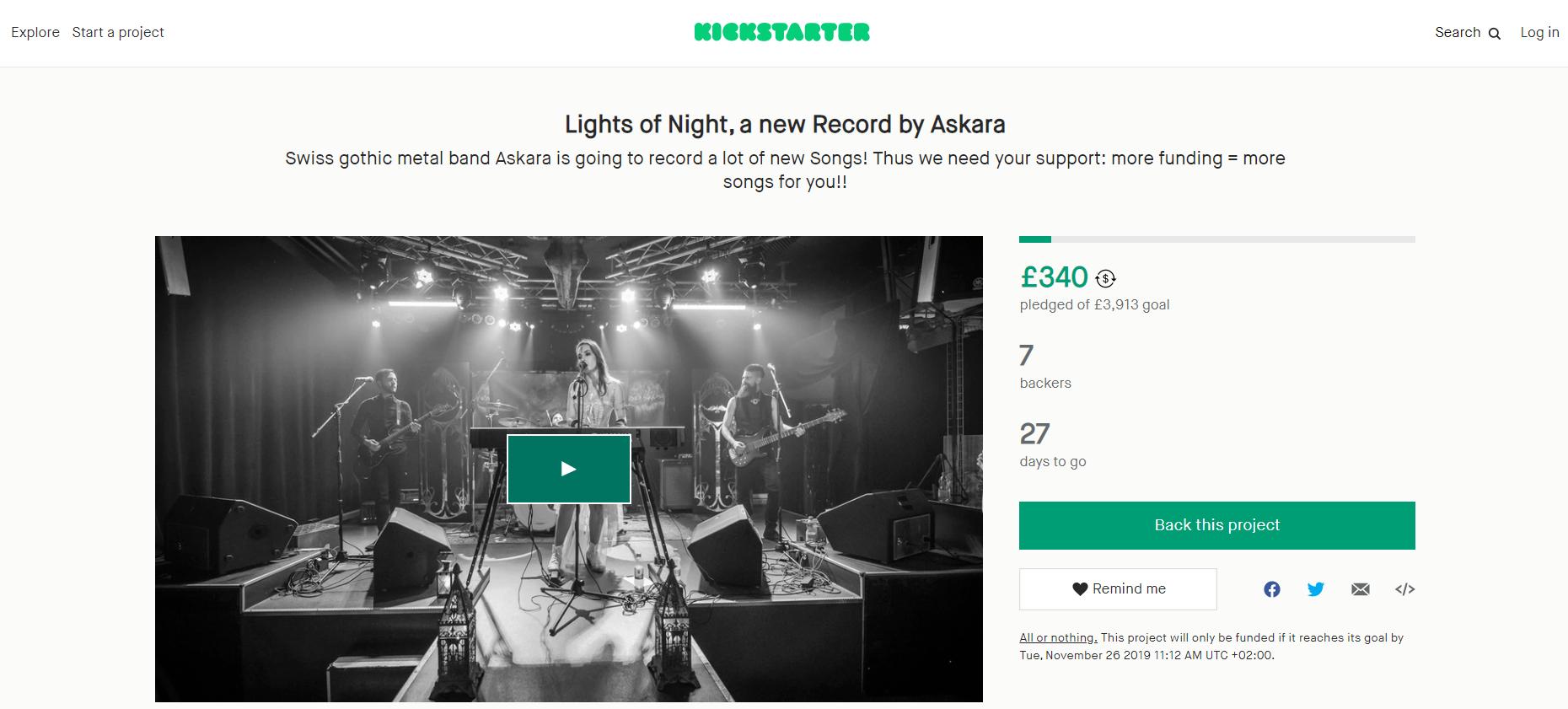 Kickstarter White Label Crowdfunding Platform