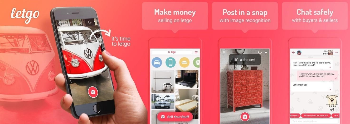 UX / UI design Build Marketplace App Like LetGo