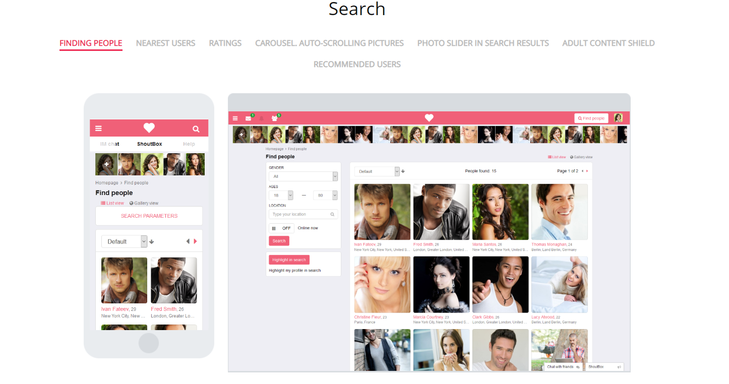 How to Create an Online Dating Site Searching