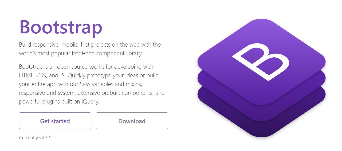 Лучшие CSS Фреймворки и Библиотеки 2020 Bootstrap