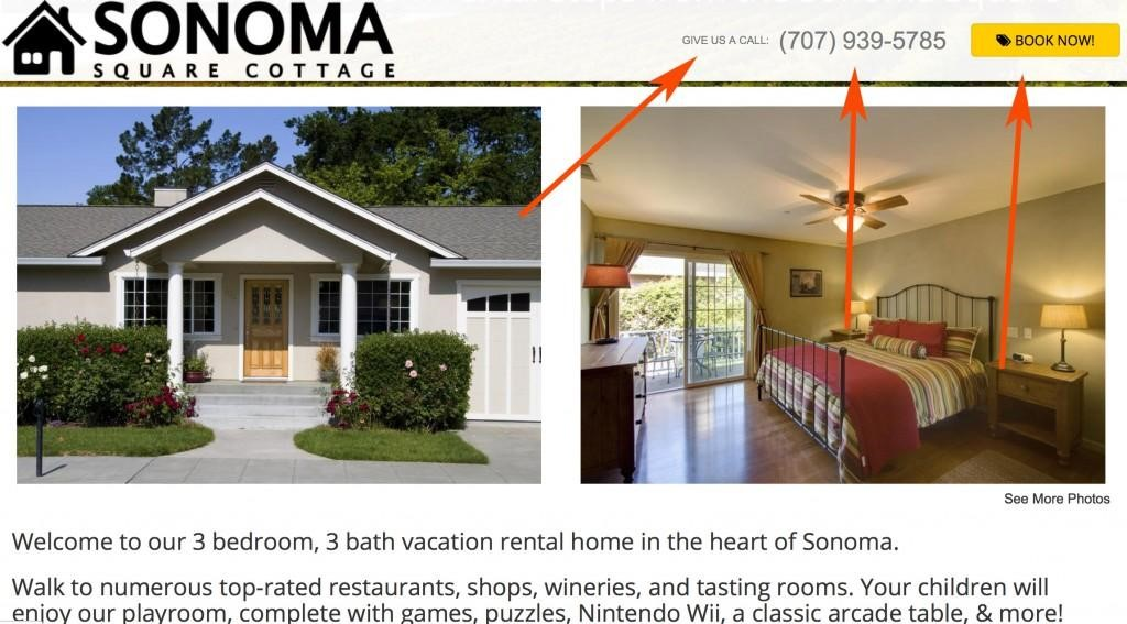 Example Build a Vacation Rental Website