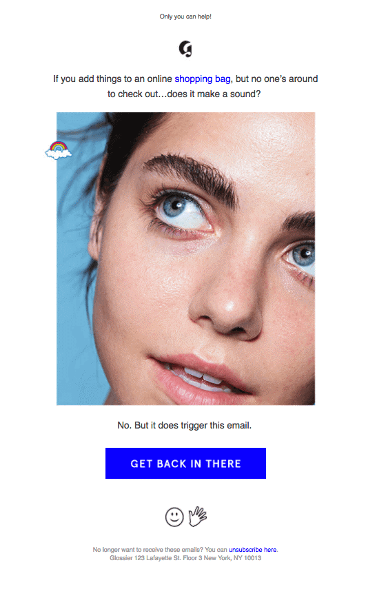 Glossier best marketplace marketing strategy