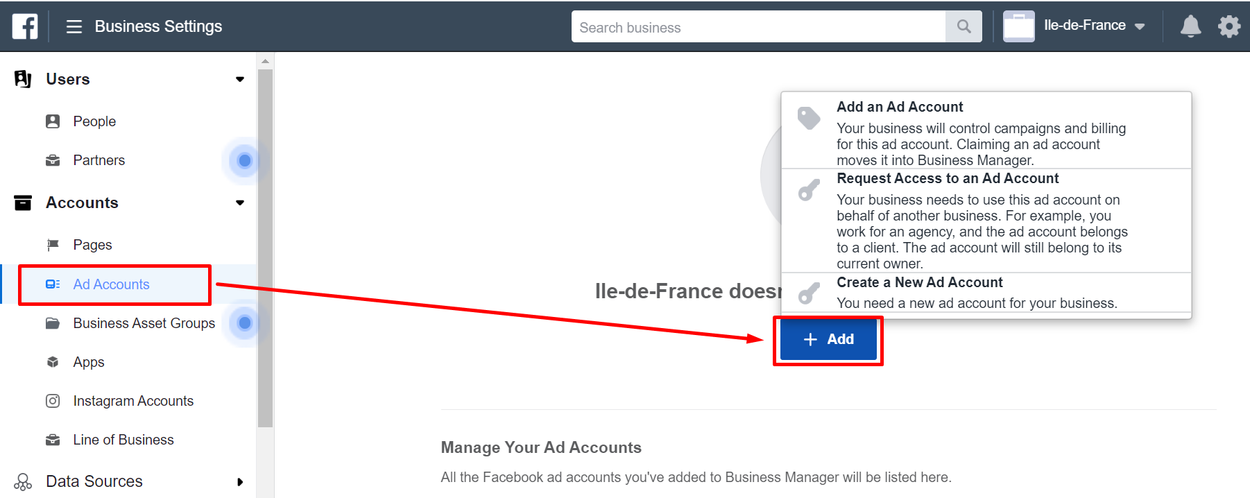 Account Create Facebook Ads Account
