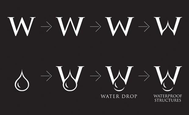 Тренды в Дизайне Логотипов Waterproof Structures