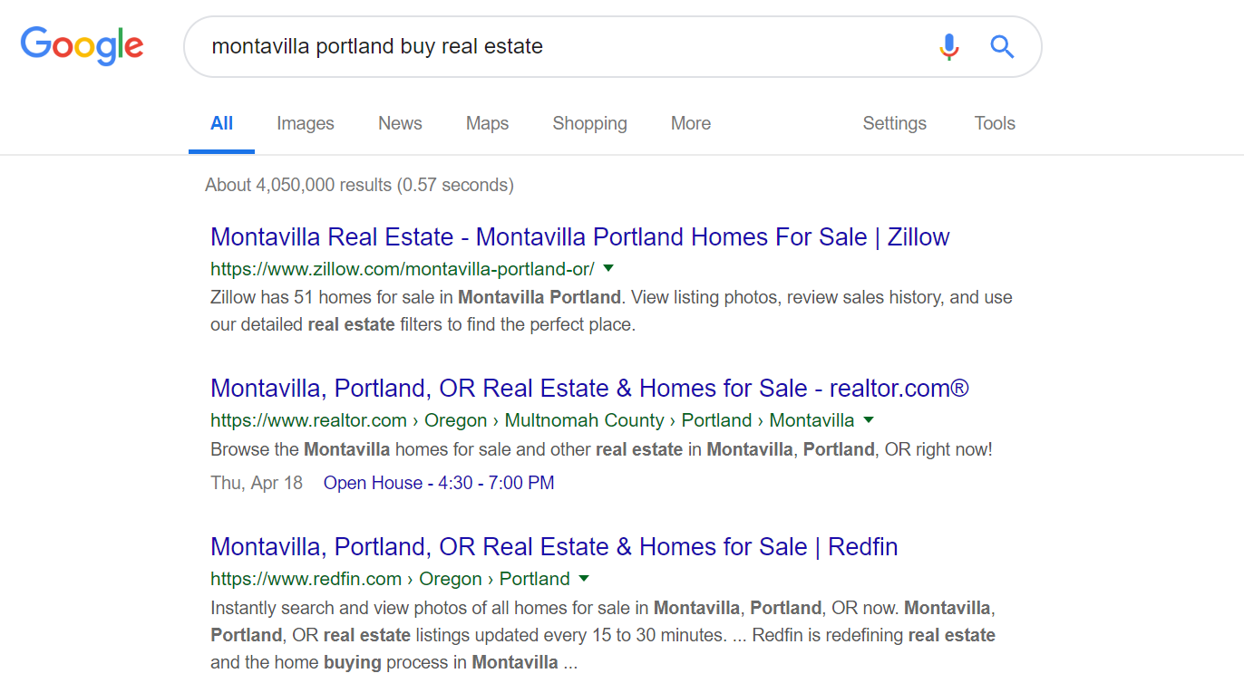 How to Build Real Estate Website Example