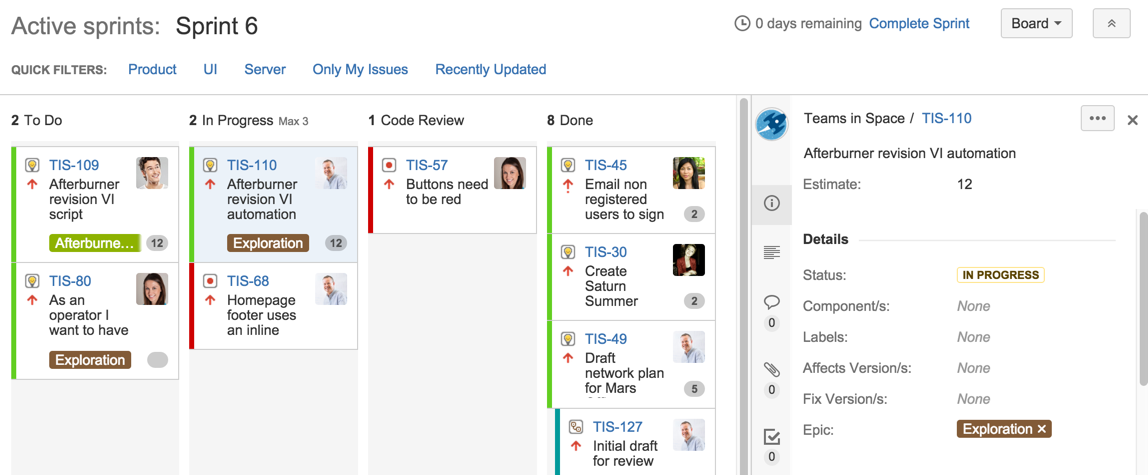 Jira and Trello 2020 Sprint Tracking