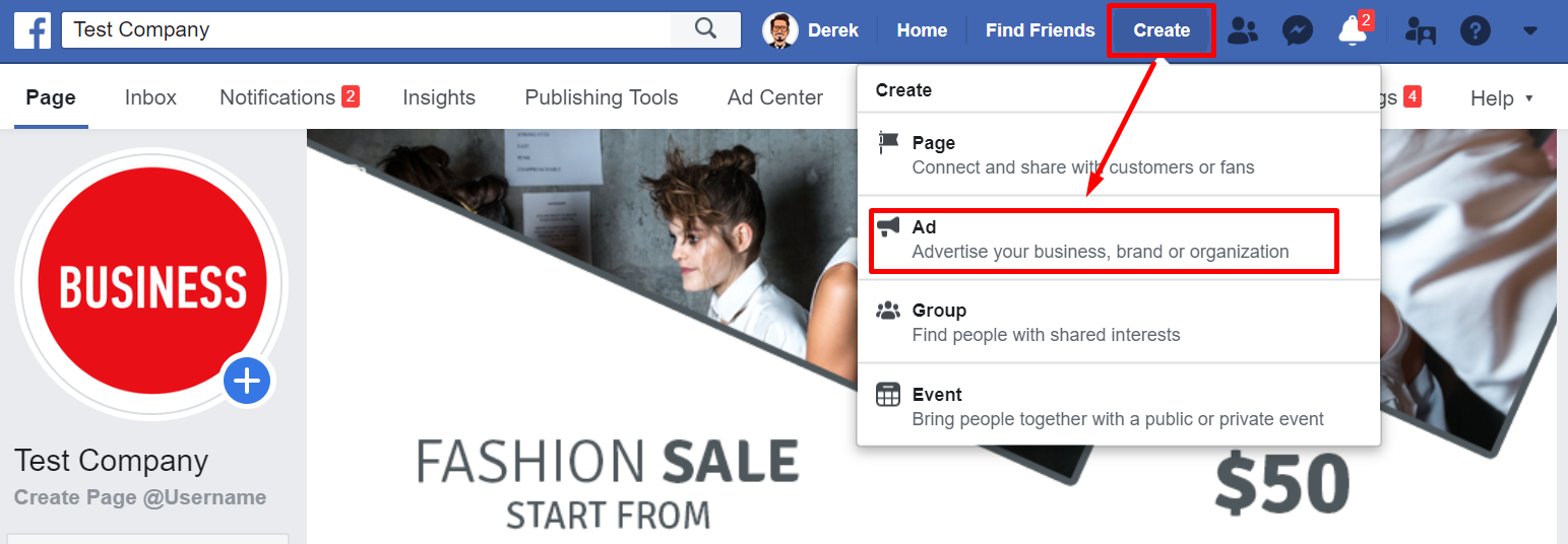 Facebook Ads Manager приложение