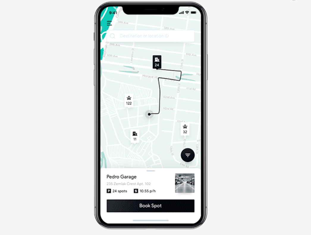 Mobile App Ideas Parking app