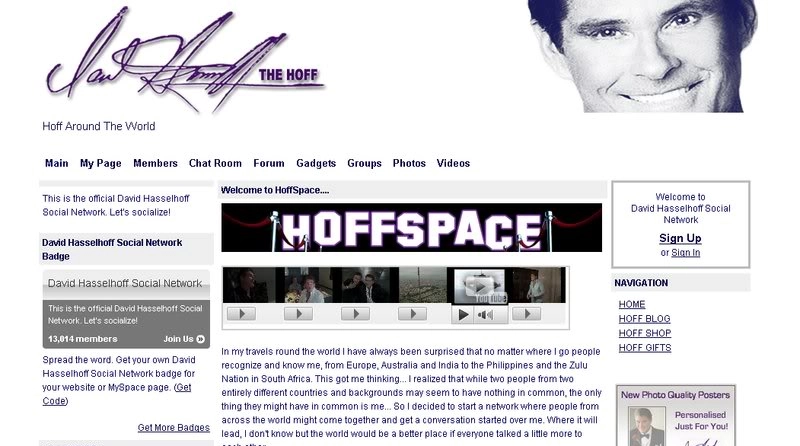 Social Network Website from Scratch HoffSpace