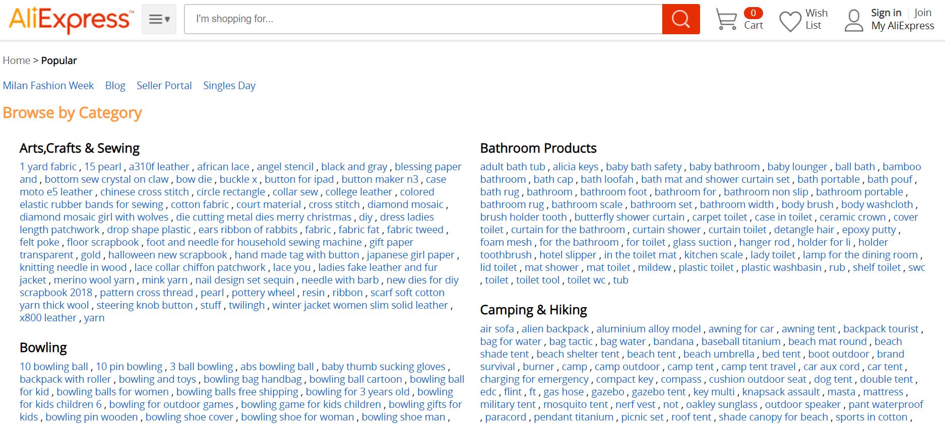 Analyzing AliExpress Start an Online Clothing Business