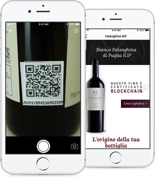 How to Use a Blockchain for Wine Industry QR code scanner