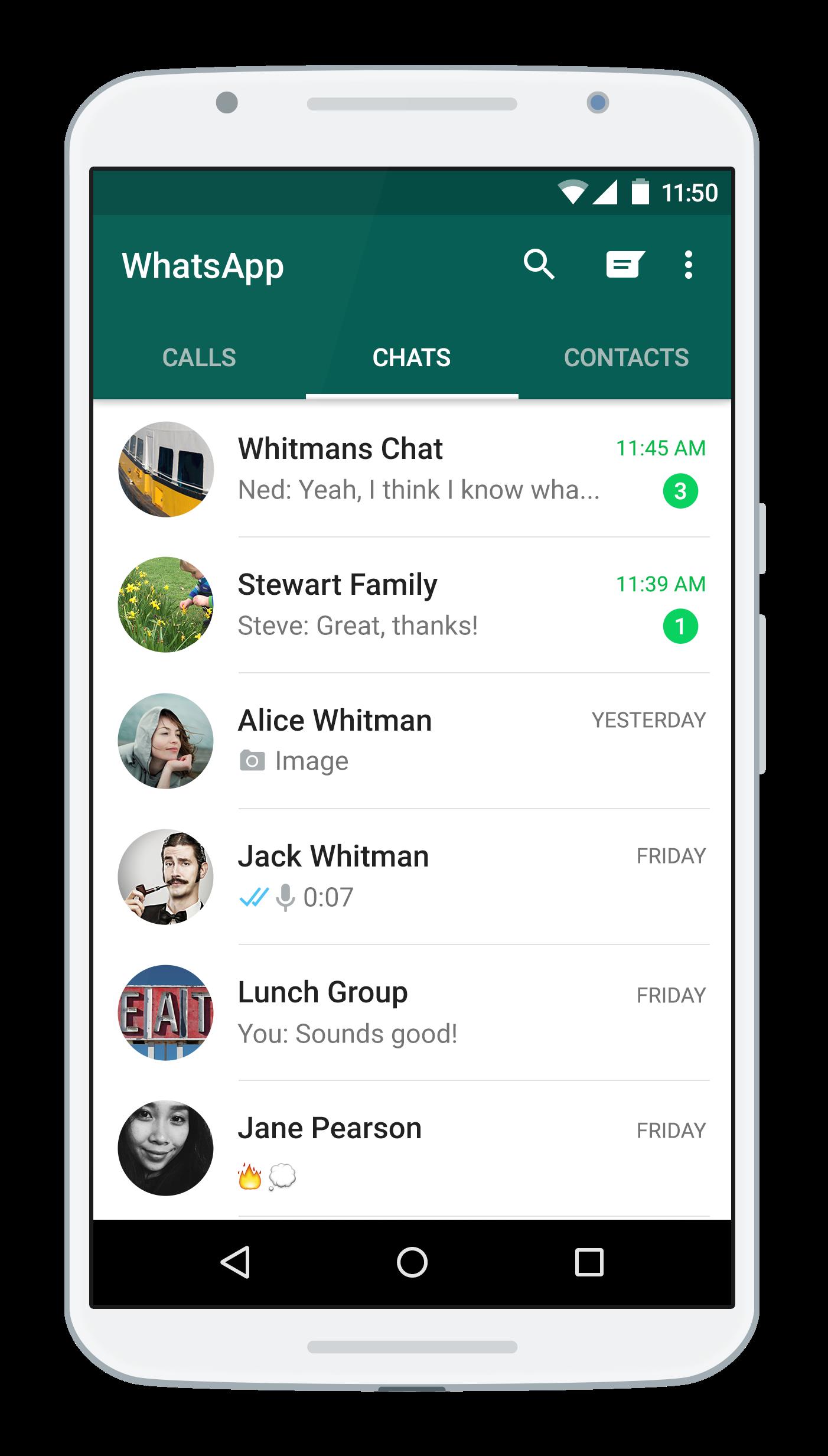 Messengers Create a Social Media