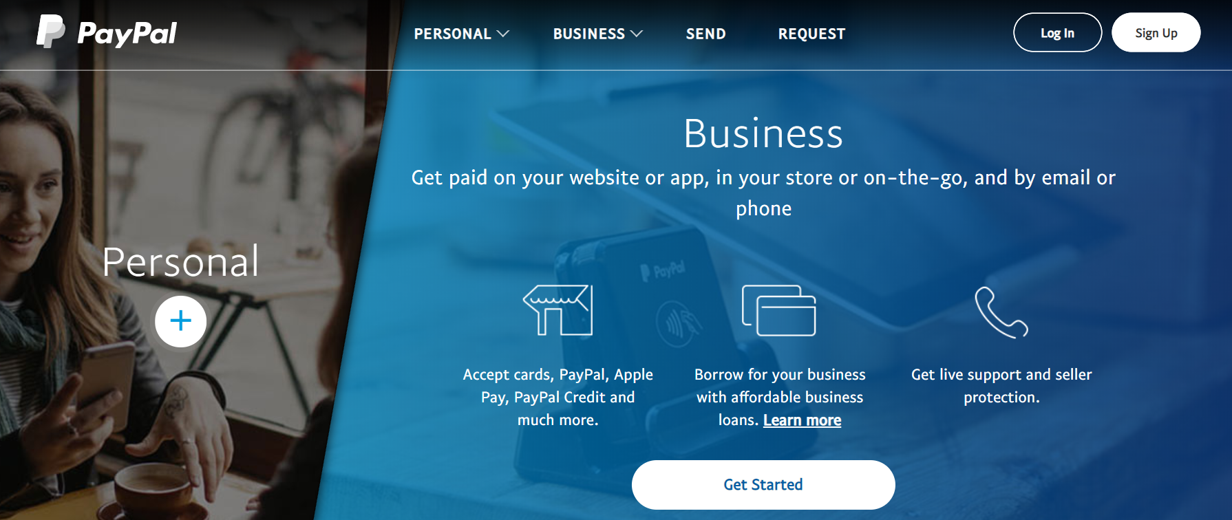 Payment Gateway on the Site PayPal