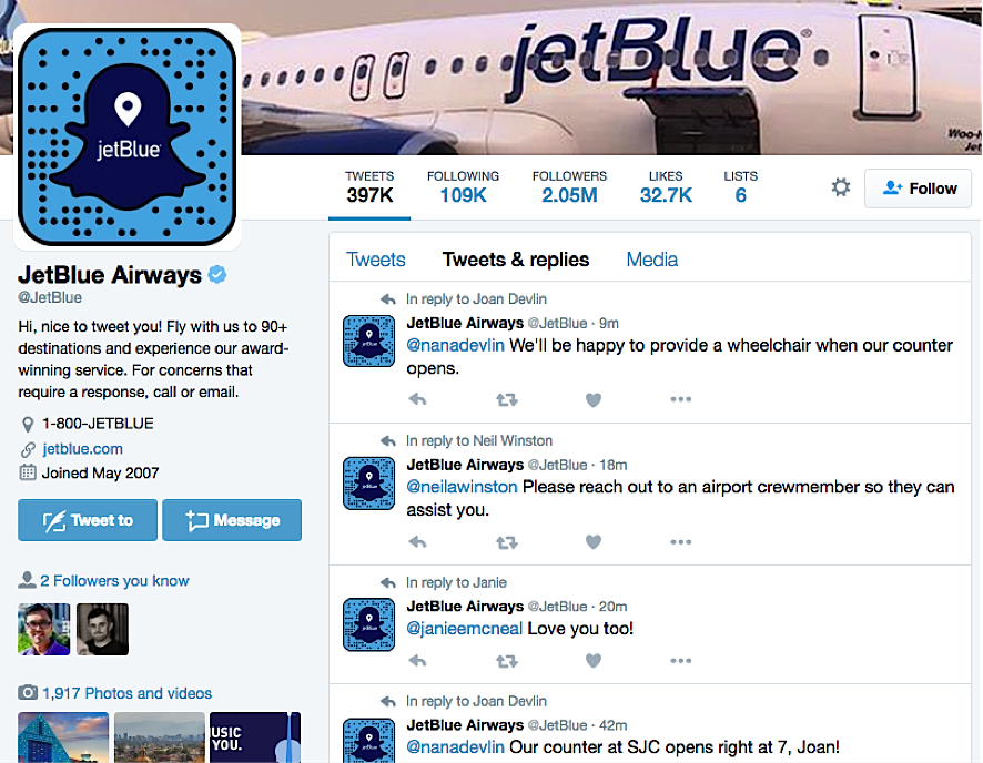 JetBlue Digital Marketing Strategies for E-commerce