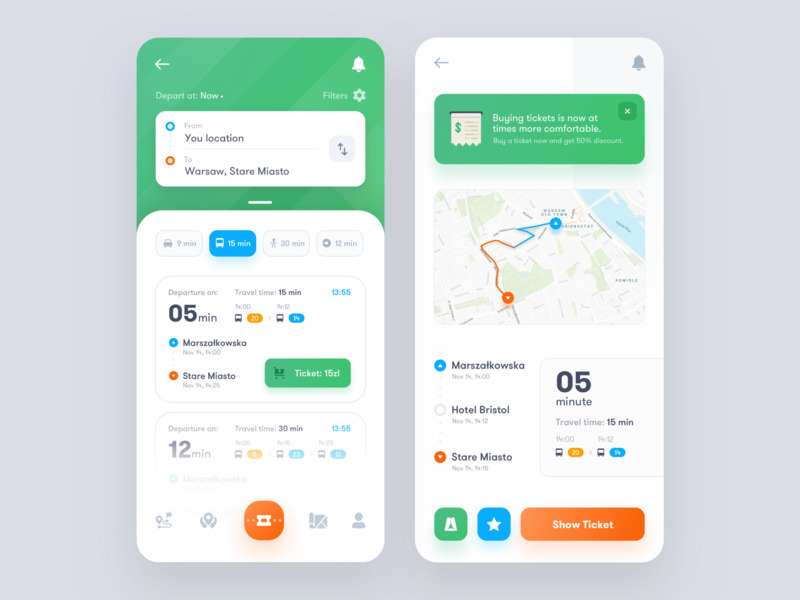 Mobile App Ideas Transport monitoring app