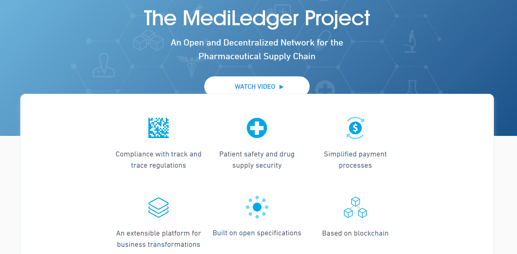 MediLedger Blockchain Startups in Logistics
