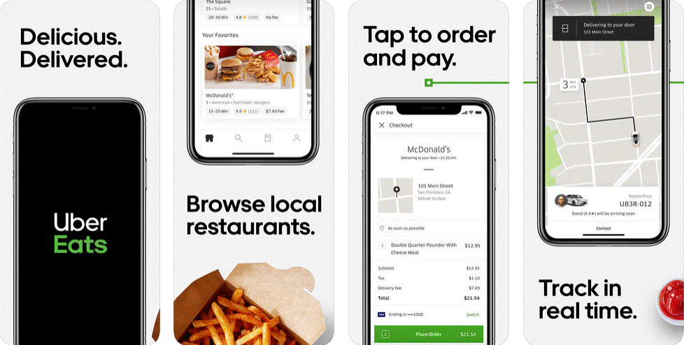Build a Food Delivery Site mobile application