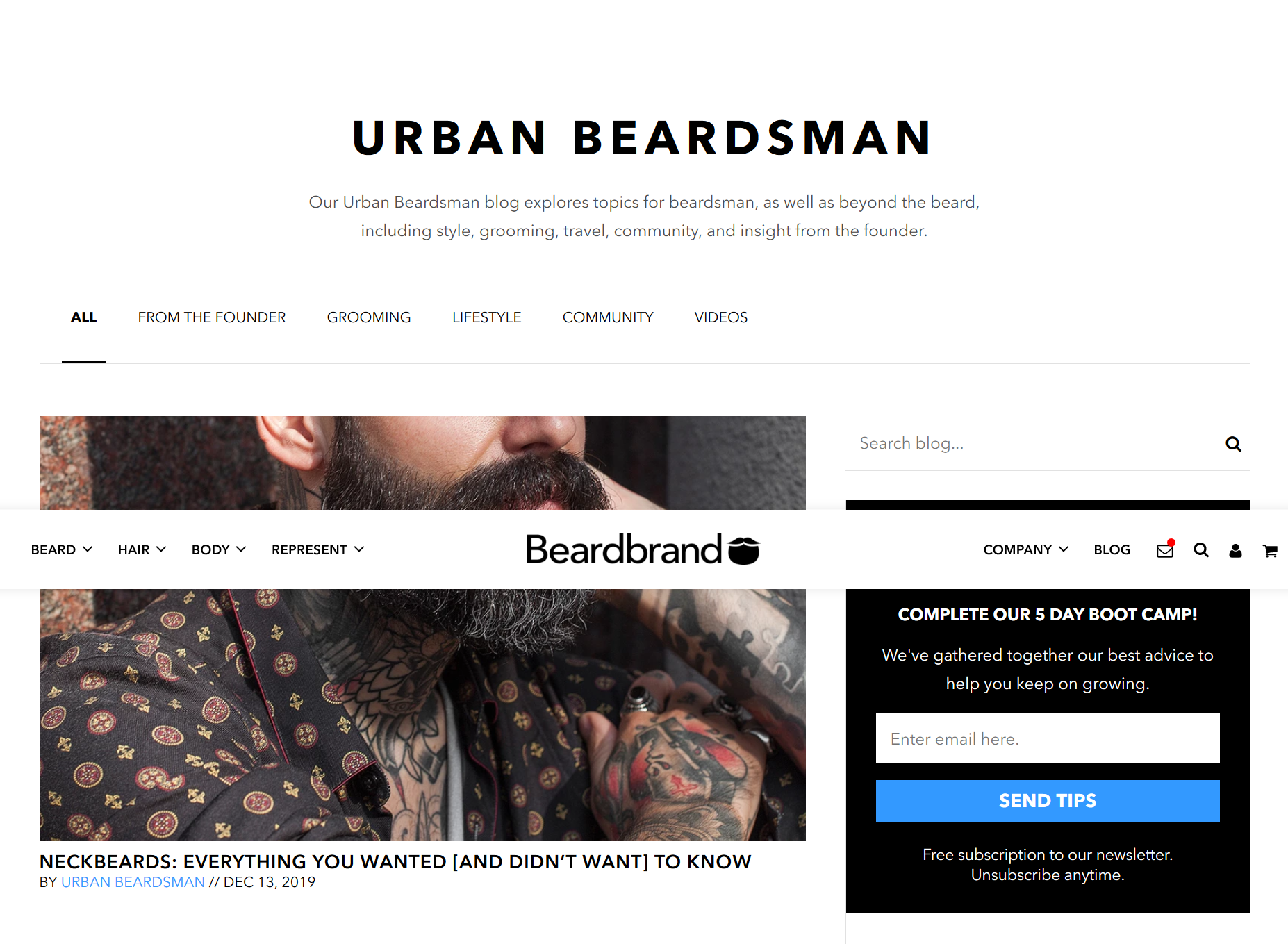 Beardbrand best marketplace marketing strategy