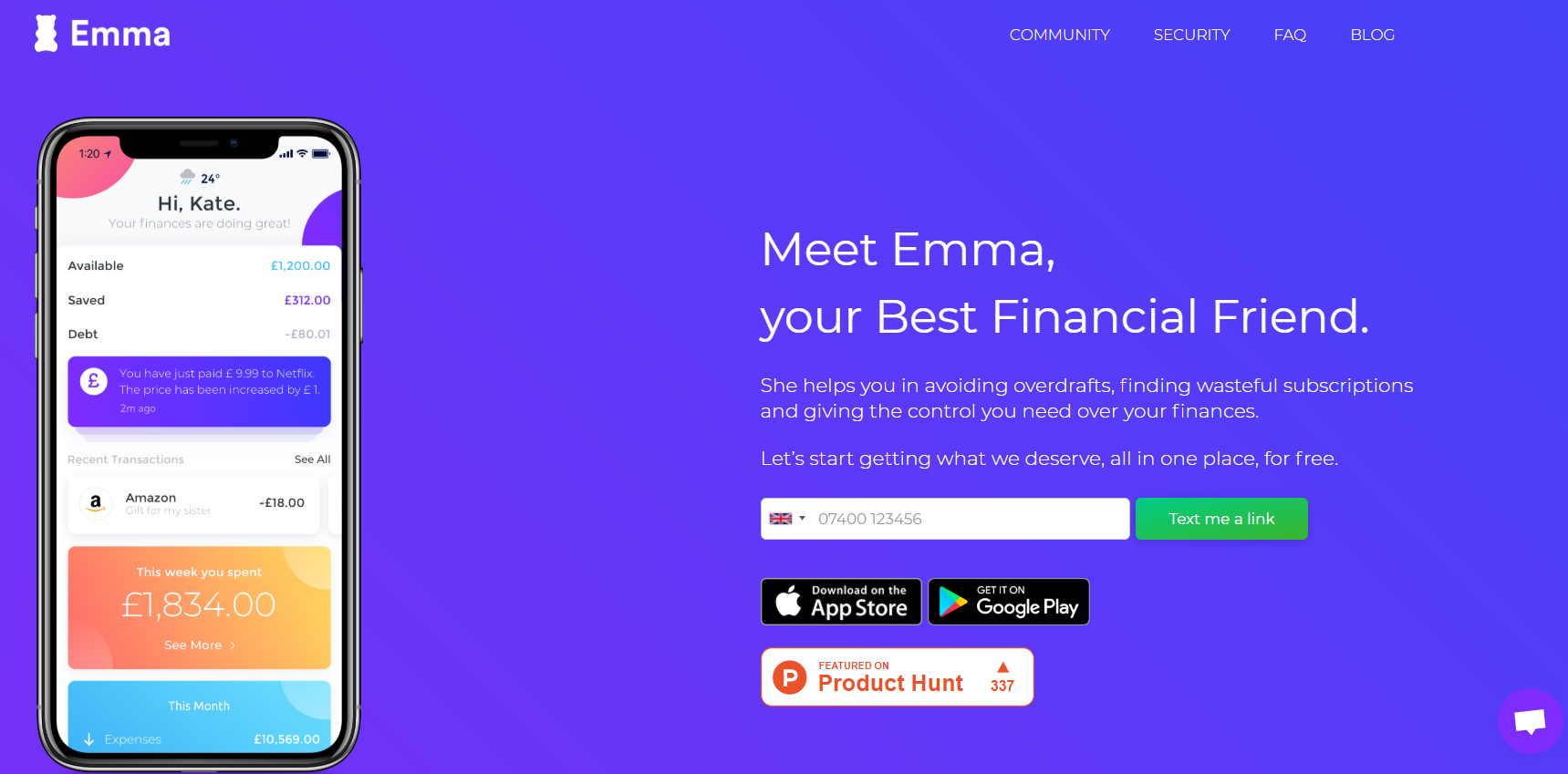How to Build Investment Applications Emma