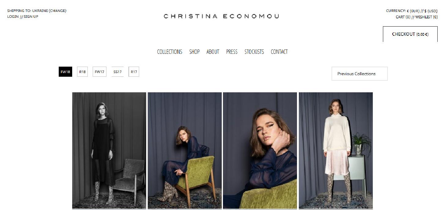Christina Economou Start an Online Clothing Business