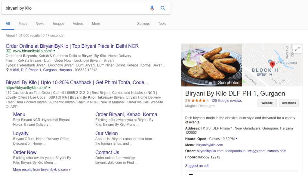 listing Digital Marketing Strategies for Restaurant