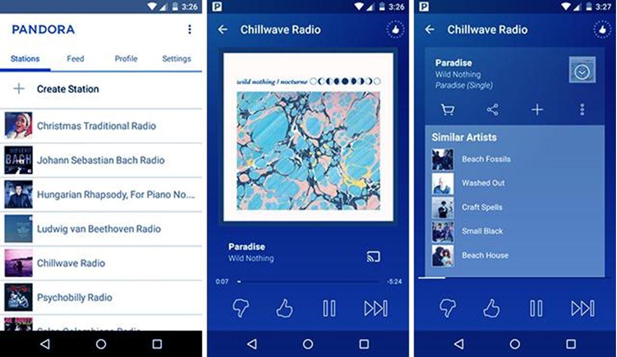 Music App Like Pandora