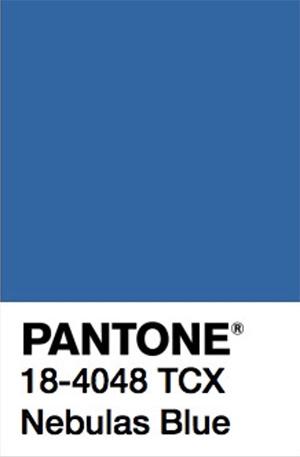 Pantone Color Trends 2019: Nebulas Blue