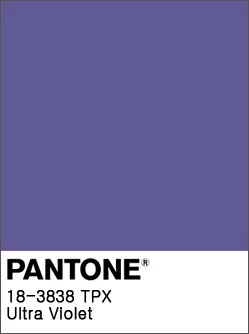 Pantone Color Trends 2019: Ultraviolet