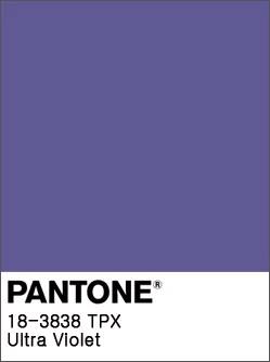 Pantone Color Trends 2019: Ultraviolet
