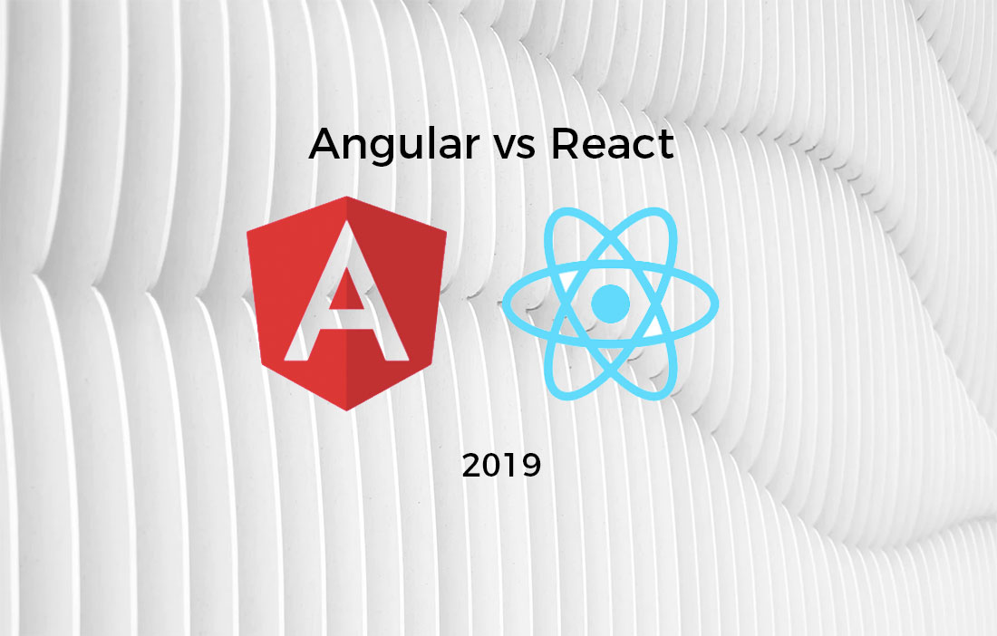 Featured image for Angular.js vs React.js 2019 - What's More Popular?