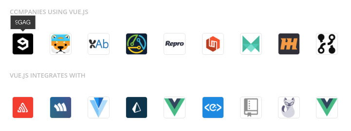 Top JavaScript Frameworks 2019 - Companies that use Vue.js