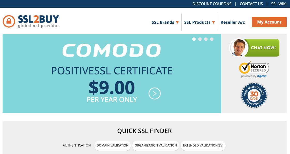 SSL Provider: ssl2buy