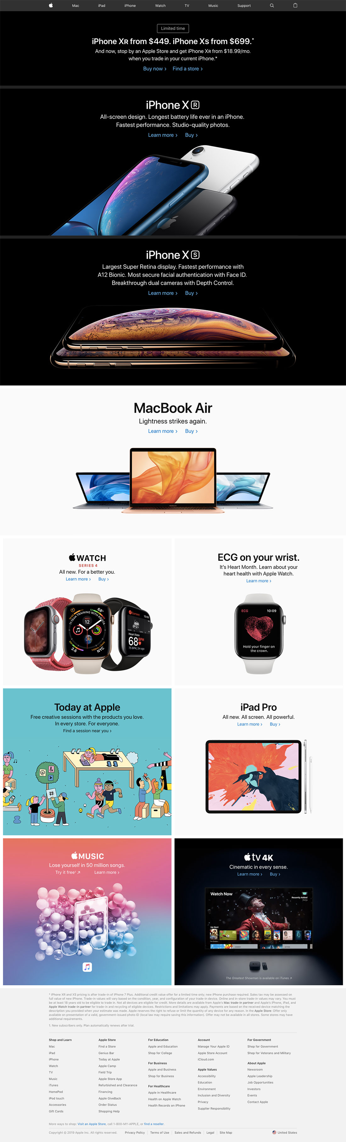 Apple - Good Web Design Examples