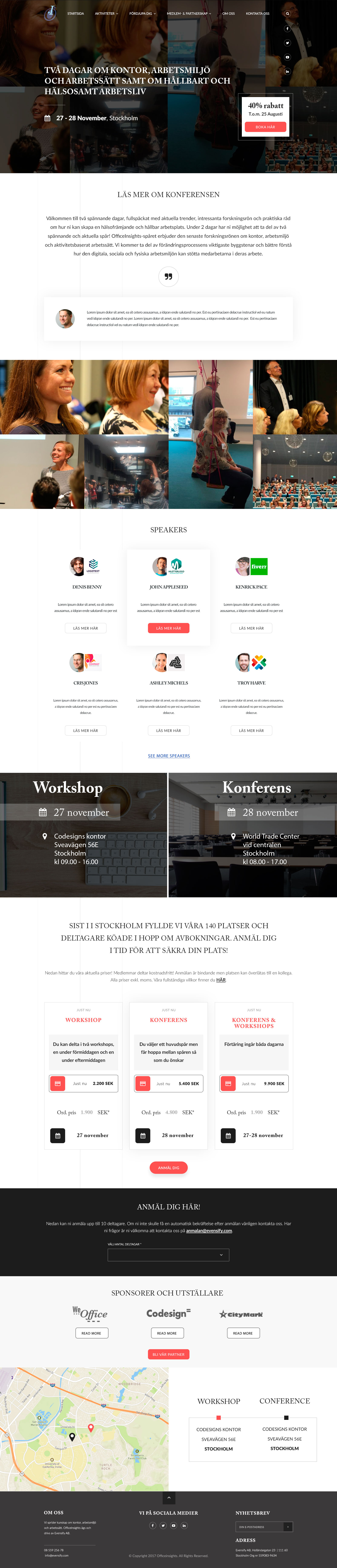 Office Insights - Conference project - Web-development - Merehead Development