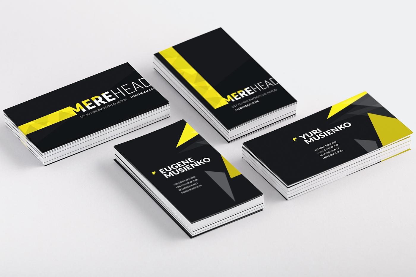 development of branding for a digital agency branding design